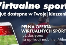 Milenium uruchamia mobilne Wirtualne Sporty