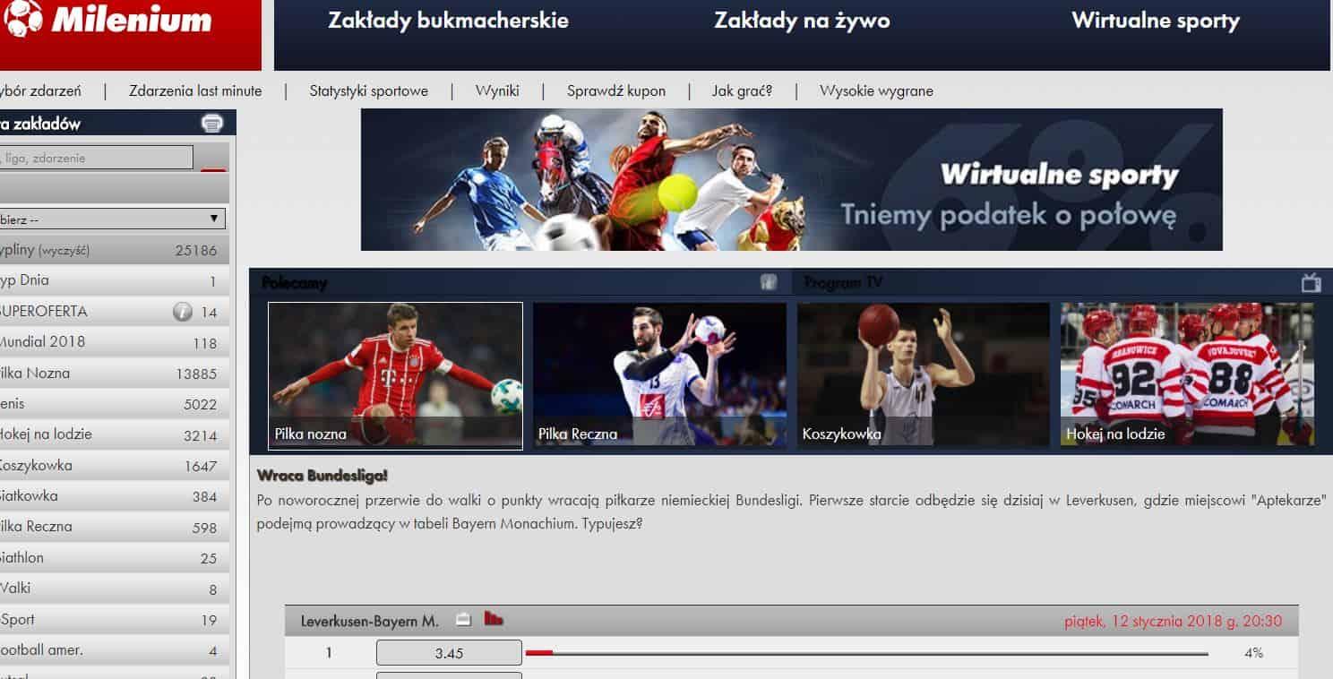 "Photo of Milenium kod promocyjny ""BetOnline"" – Bonus 1500 PLN + 150 PLN Na Zakłady"