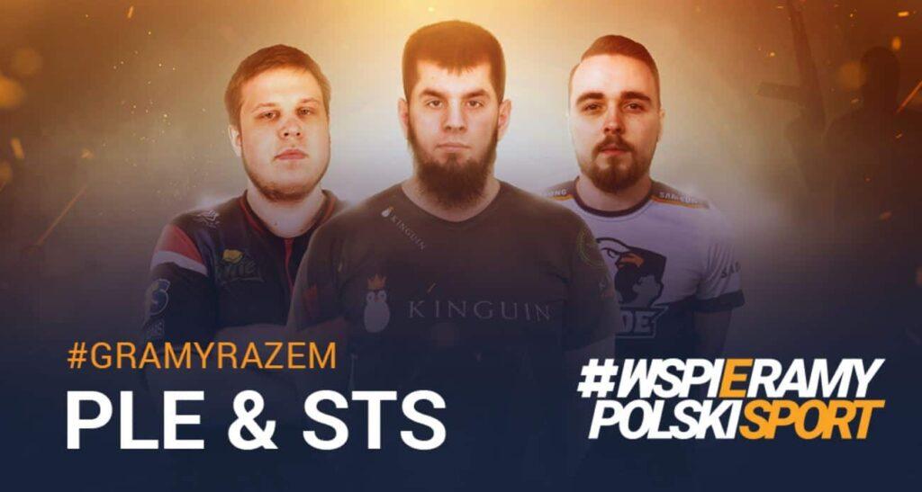STS wspiera Polską Ligę Esportową