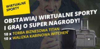 20 nagród do zdobycia w Wirtualnych Sportach Fortuny!