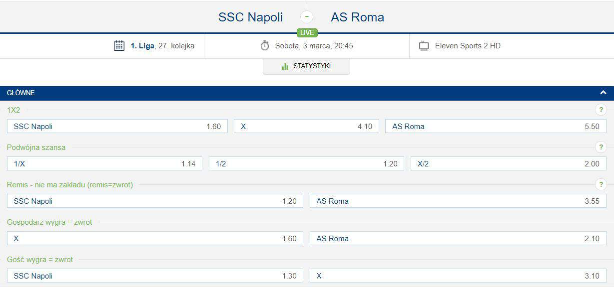 Serie A w forBET