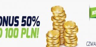 Czwartkowe bonusy w forBET. Do 100 PLN za depozyt!