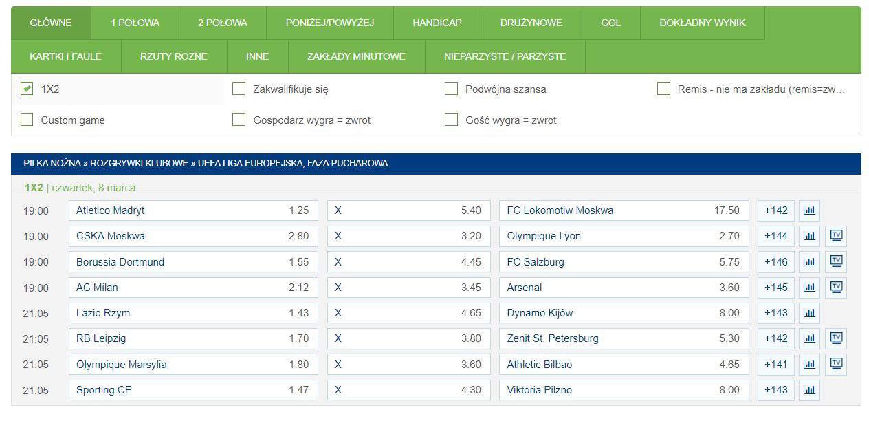ffd52af4f ForBET na Ligę Europy. Bonus 100 PLN i konkurs bukmacherski ...