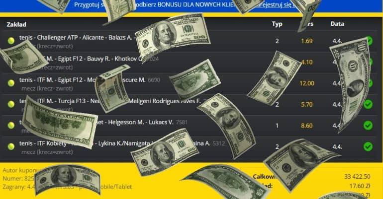20 złotych zamienił na ponad pół miliona! Rekord w Fortunie!