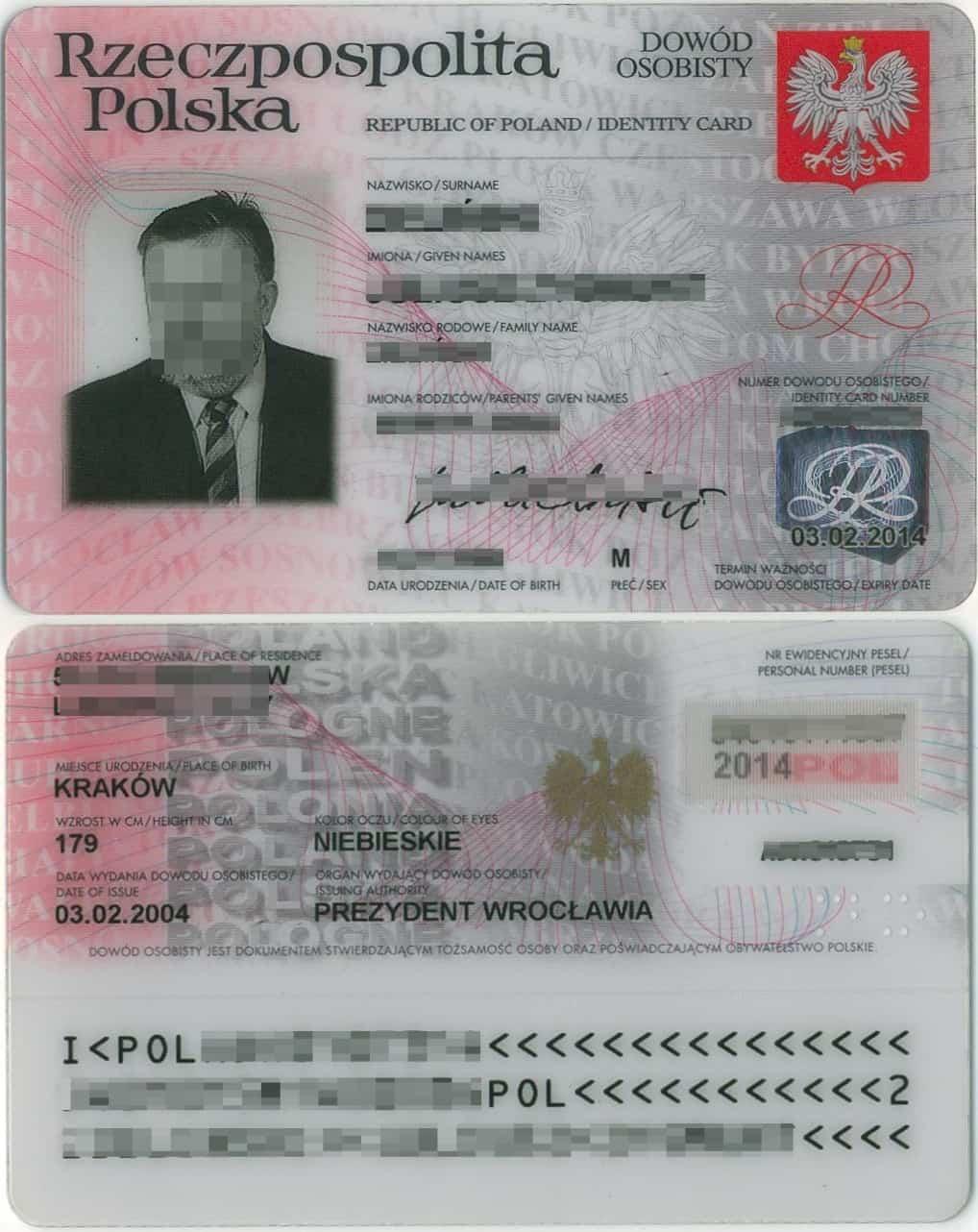 Polski dowód osobisty