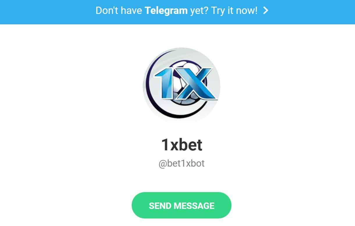 1xBet Telegram Bot