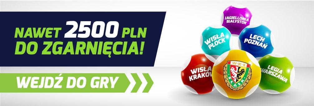 Typer Ekstraklasy. Do wygrania 2500 PLN w gotówce!