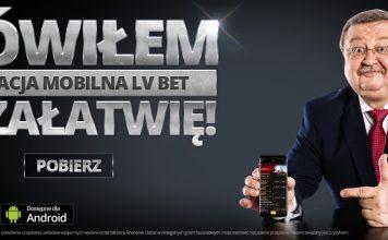 Zdzisław Kręcina załatwił... aplikację mobilną LV BET!