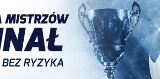 Forbet i cashback na finał Ligi Mistrzów 2018!
