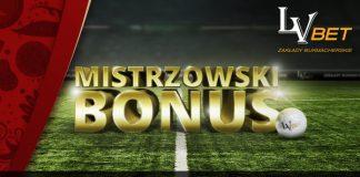 Bonus 200 PLN czeka na klientów LV BET!