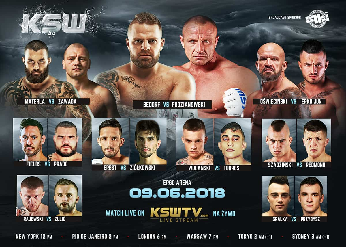 KSW 44 Fight Card