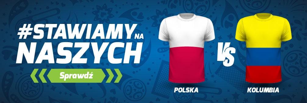Forbet promocja na Polska - Kolumbia