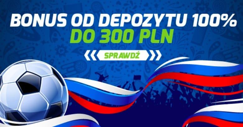 Forbet bonus na dziś. Odbierz do 300 PLN!