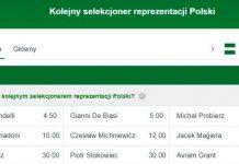 Nowy trener Polski dał zarobić ogromne pieniądze!