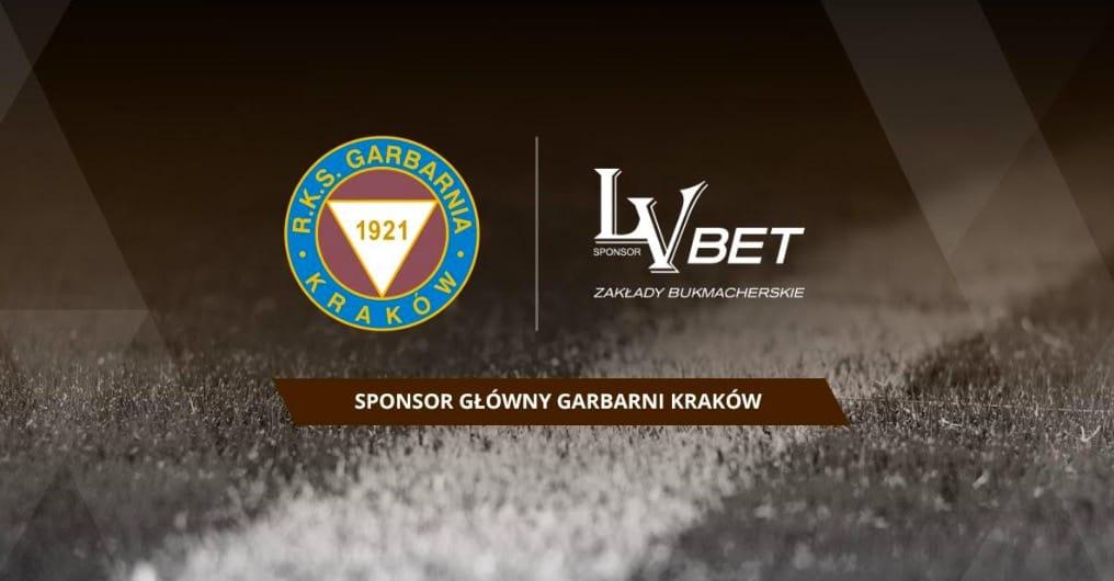 LV BET sponsorem klubu Garbarnia Kraków!