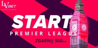 500 PLN na start Premier League!