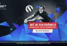 Siatkarskie MŚ 2018. Bonus w aplikacji LV BET!