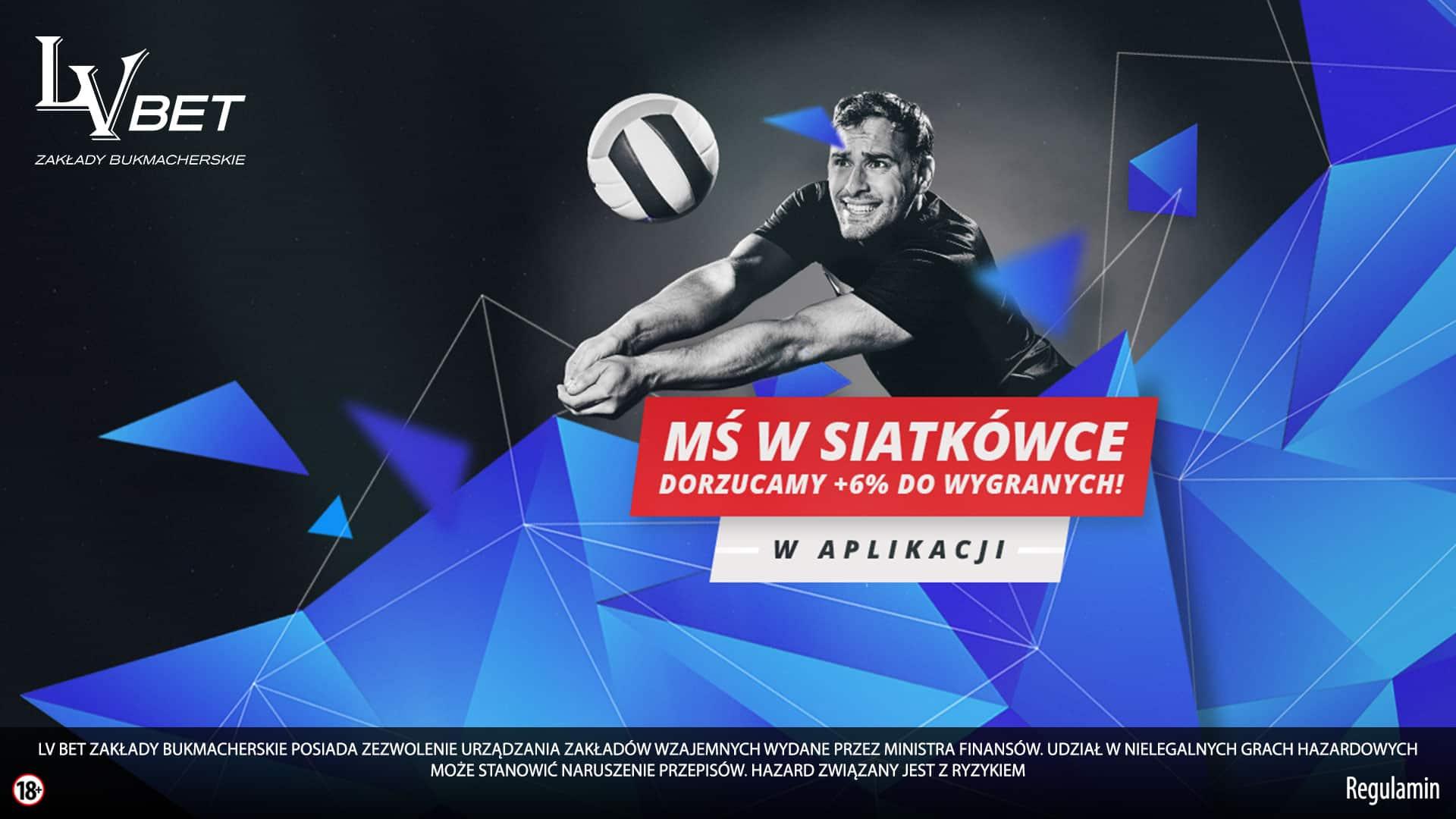 Photo of Siatkarskie MŚ 2018. Bonus w aplikacji LV BET!