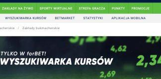 W Forbet ruszyła Wyszukiwarka Kursów!