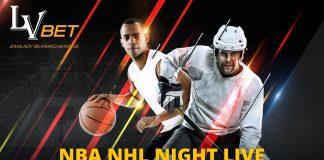 NBA NHL Night Live. Liga typerów w LvBET!