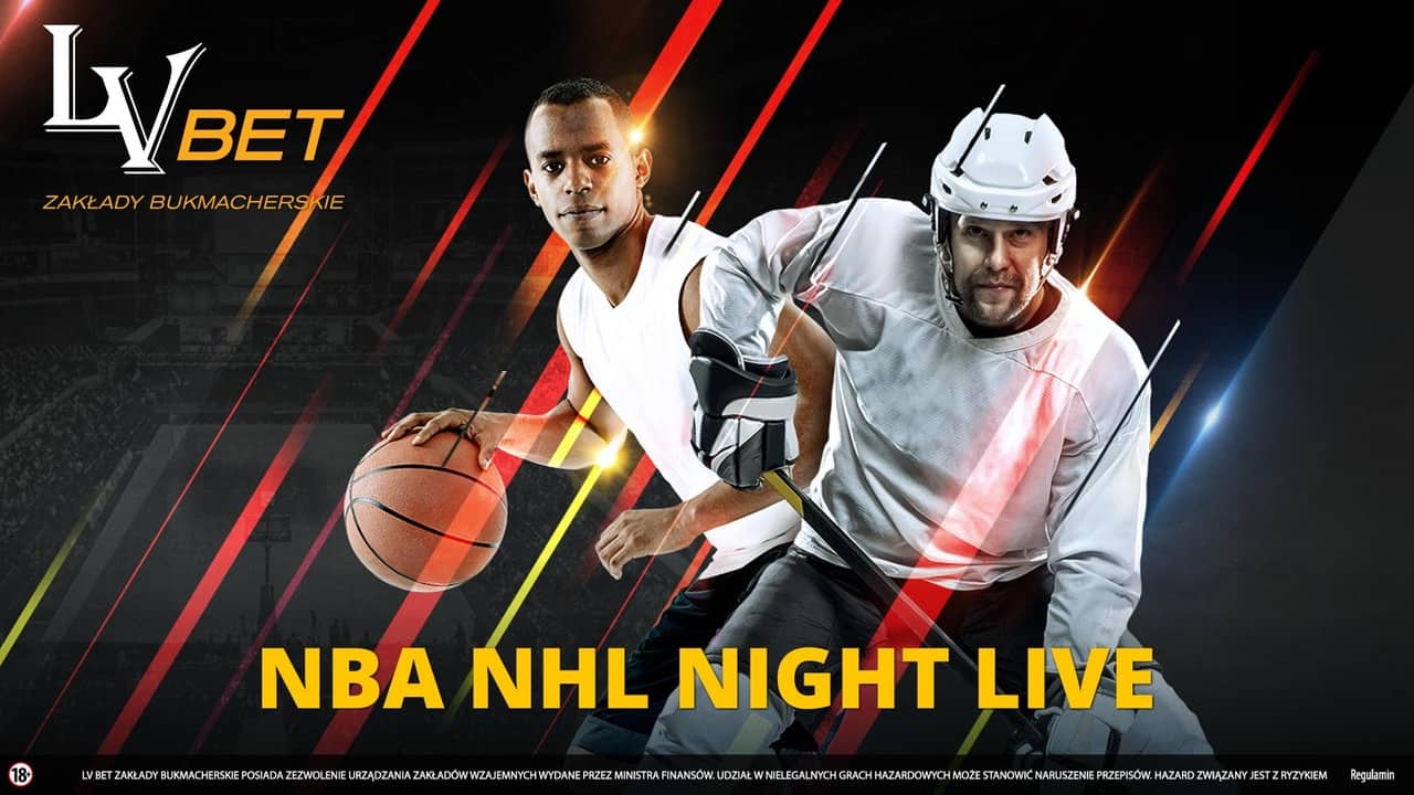 NBA NHL Night Live. Liga typerów w LvBET!