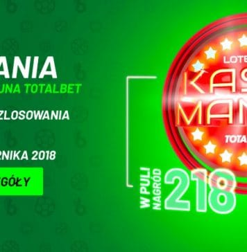 Kasomania TOTALbet, czyli loteria z nagrodami!