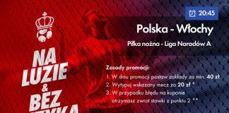 Zwrot 20 PLN na Polska - Włochy w Milenium!