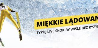 Skoki narciarskie LIVE bez ryzyka!