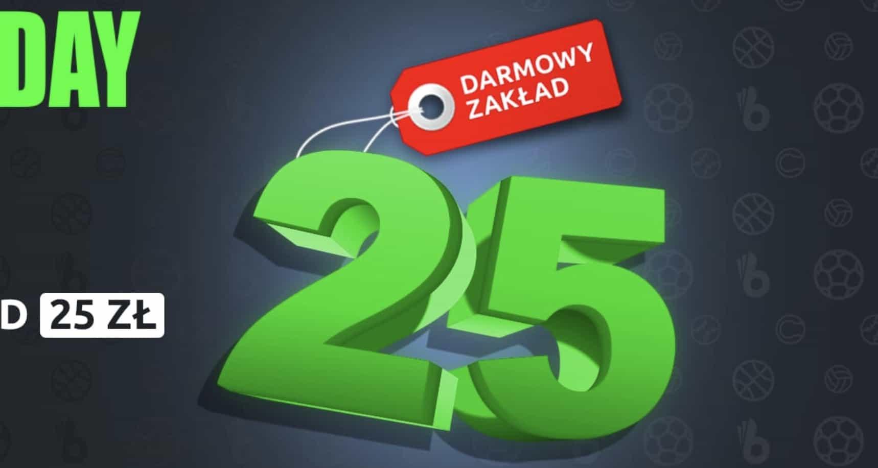 25 PLN od Totalbet na Czarny Piątek!