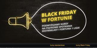 Black Friday u bukmachera Fortuna!