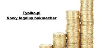 13. legalny bukmacher w Polsce to Typiko!