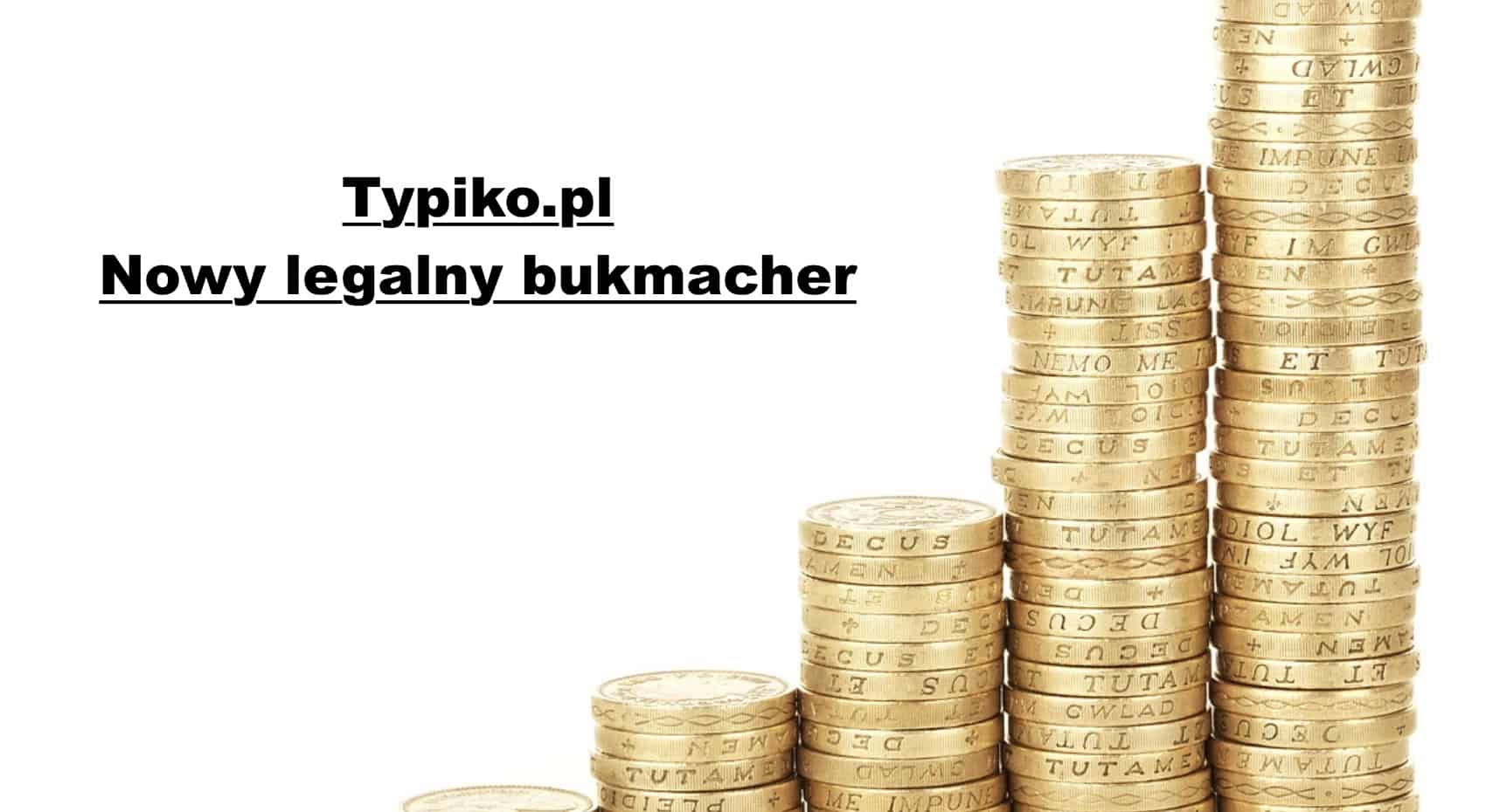 Photo of 13. legalny bukmacher w Polsce to Typiko!