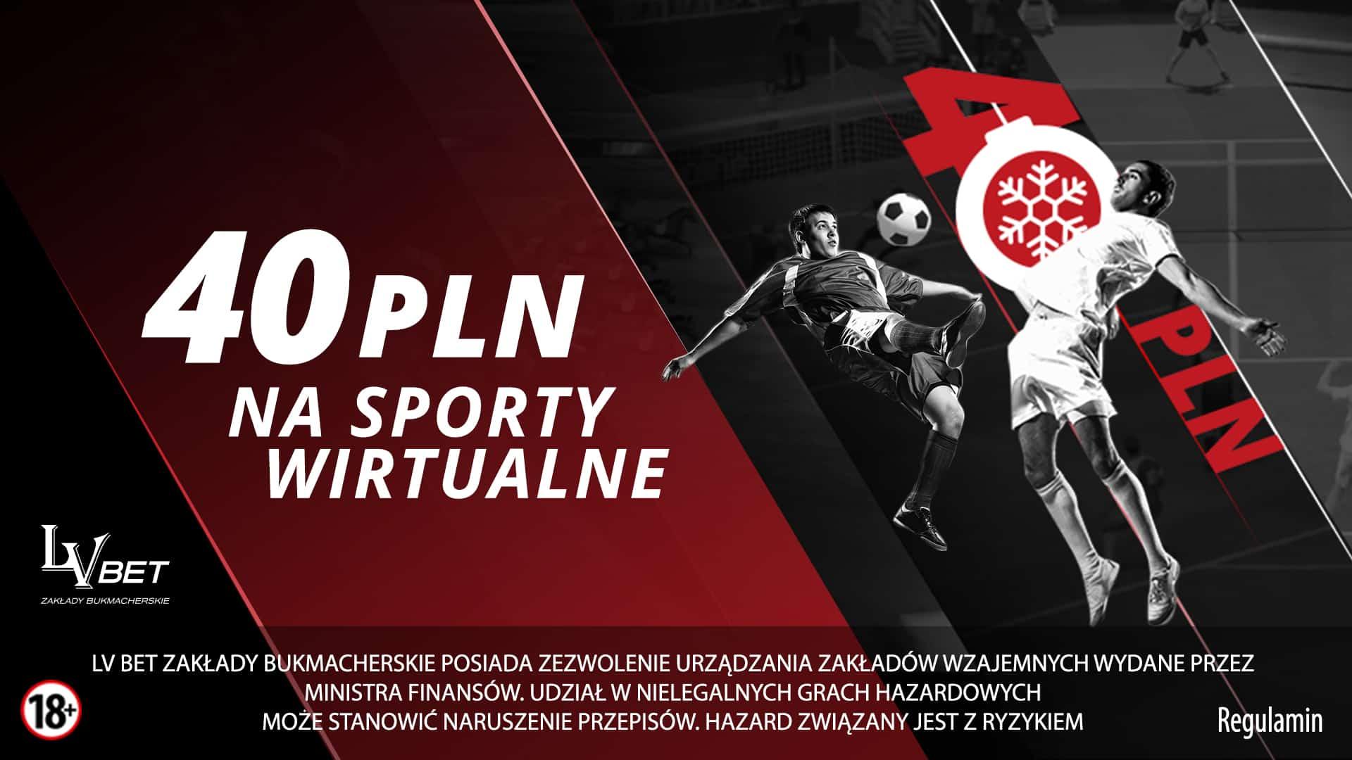 Photo of 40 PLN na Wirtualne Sporty w LvBET!