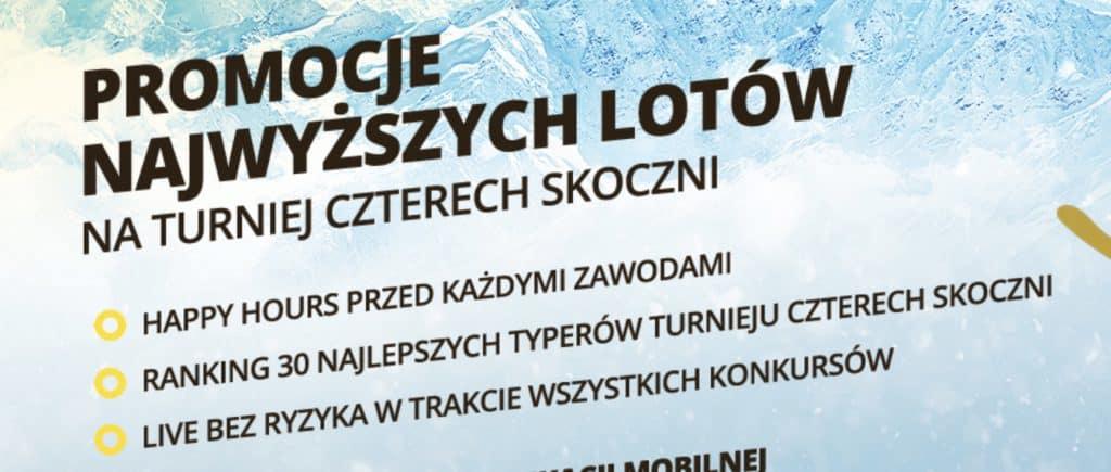 Bukmacher Fortuna. Obstawianie skoków narciarskich