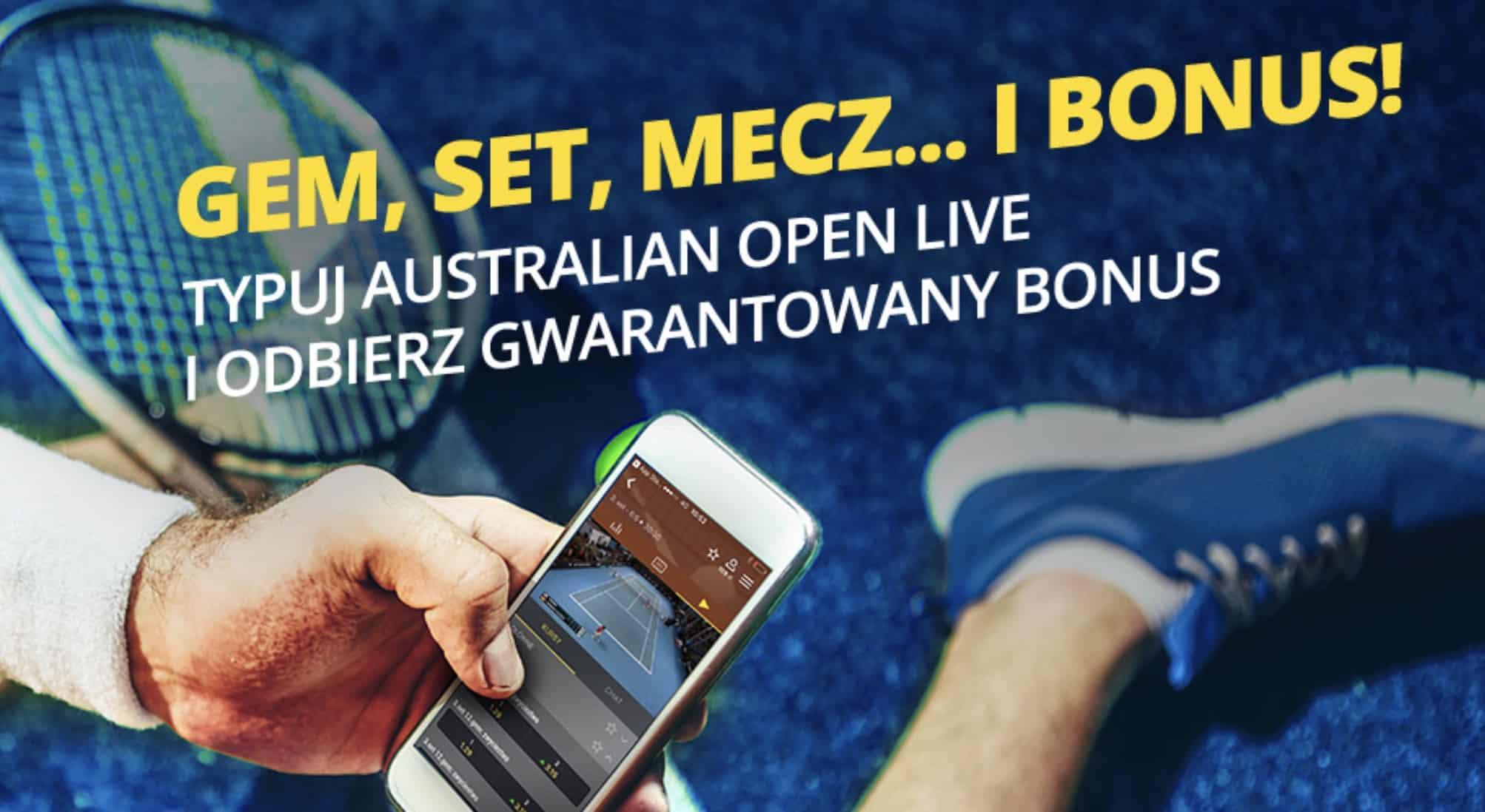 Photo of Fortuna z bonusem 20 PLN na Australian Open 2019!