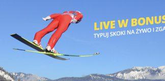 Fortuna daje 20 PLN na skoki narciarskie w Zakopanem!