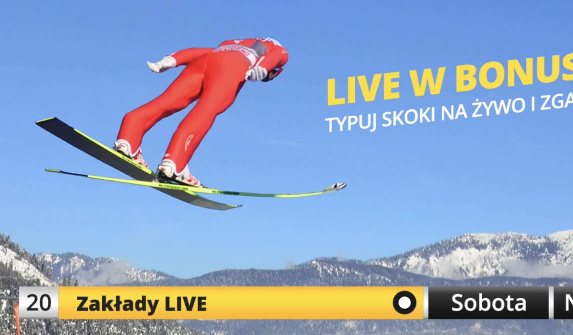 Photo of Fortuna daje 20 PLN na skoki narciarskie w Zakopanem!