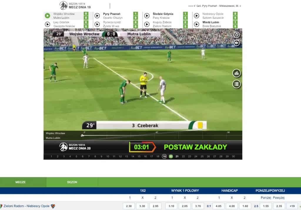 Wirtualne mecze Forbet