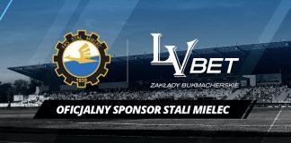 Bukmacher LV BET sponsorem Stali Mielec