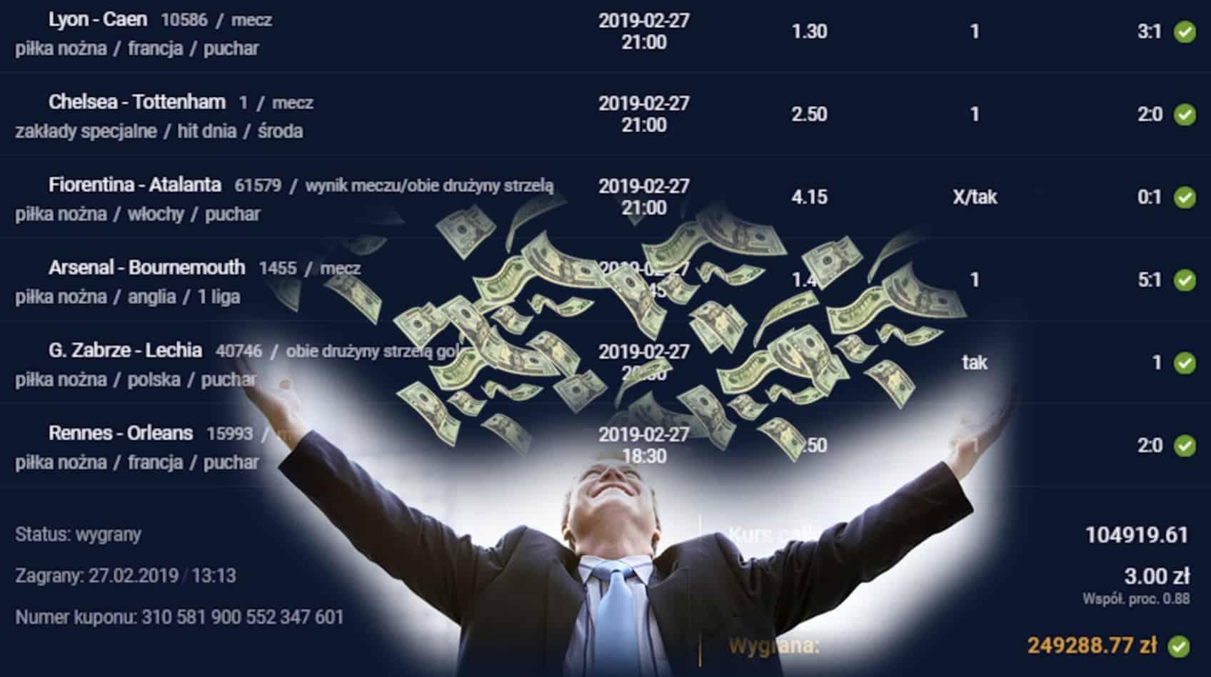 Photo of Klient STS wygrał 1.25 mln złotych! Zobacz, na co postawił!