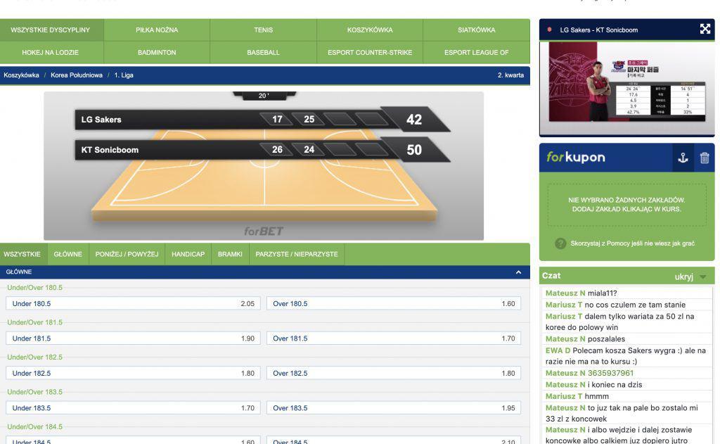 Forbet TV - darmowe mecze przez internet. Jak oglądać?