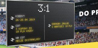 Fortuna daje 10 PLN za obstawianie Ekstraklasy!