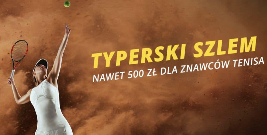 Typerski Szlem. Fortuna płaci 500 PLN znawcom tenisa!