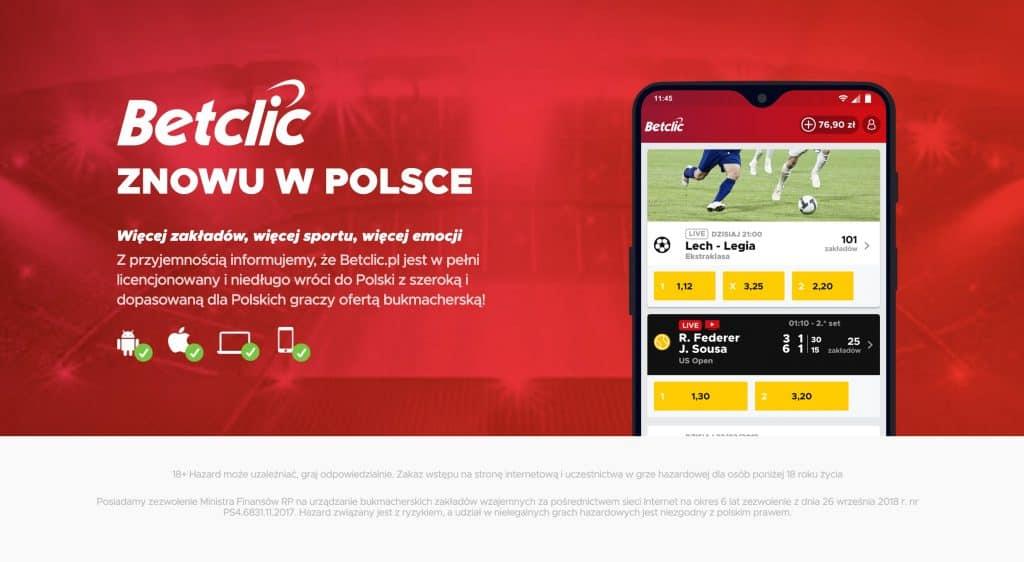 BetClic Polska nie wystartuje w czerwcu. Przesunięty start bukmachera!