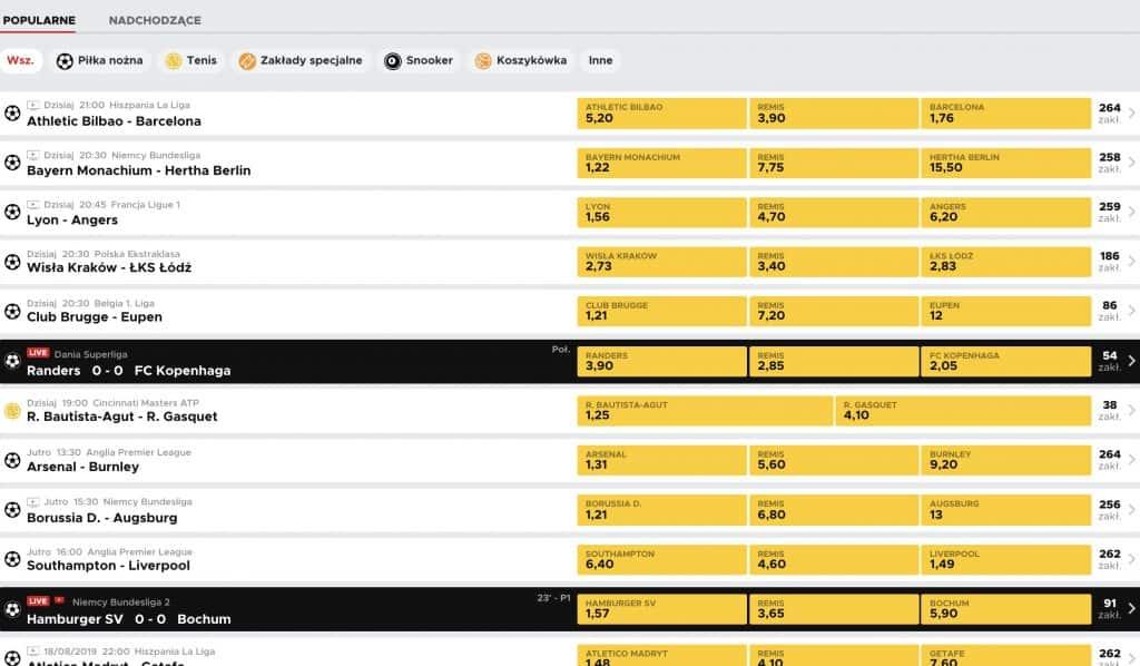 Legalny bukmacher BetClic nie wystartował w czerwcu, tak jak miało to być. Jest już jednak dostępny w Polsce. Zobaczcie, co oferuje na 2019 rok!