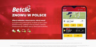 BetClic Polska rusza już wkrótce. Zbliża się lipiec 2019!