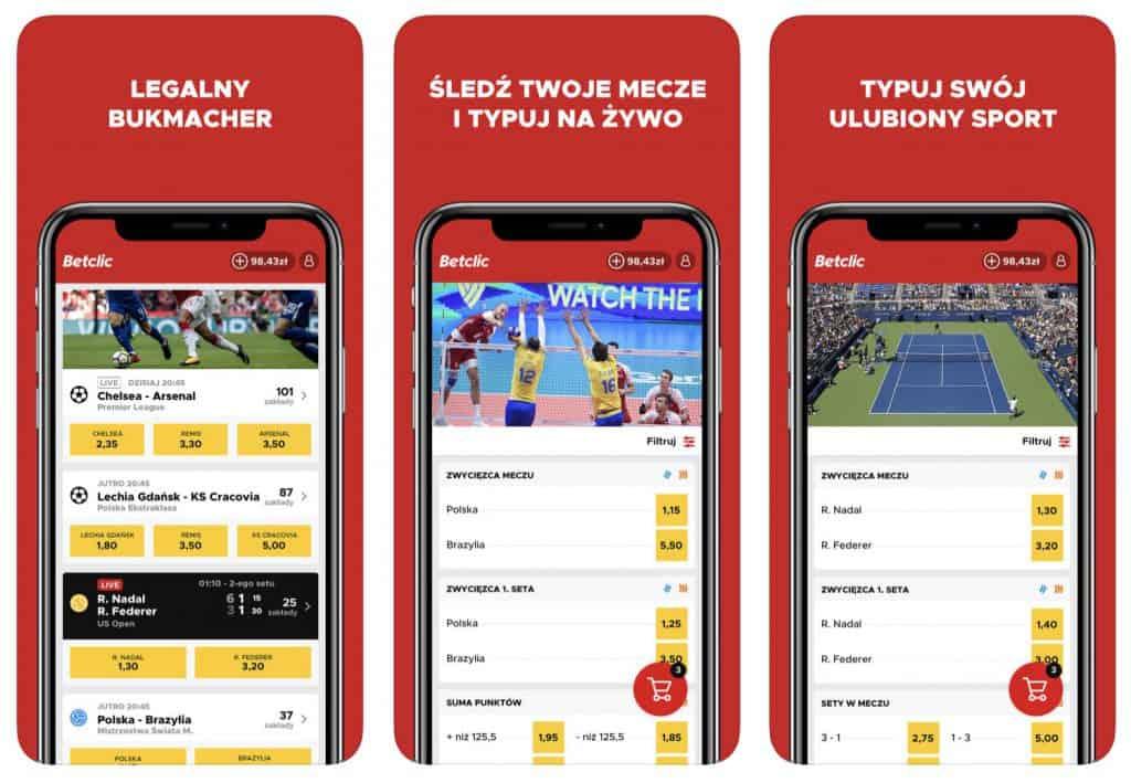 Betclic Polska - pobieranie aplikacji na smartfony i tablety!