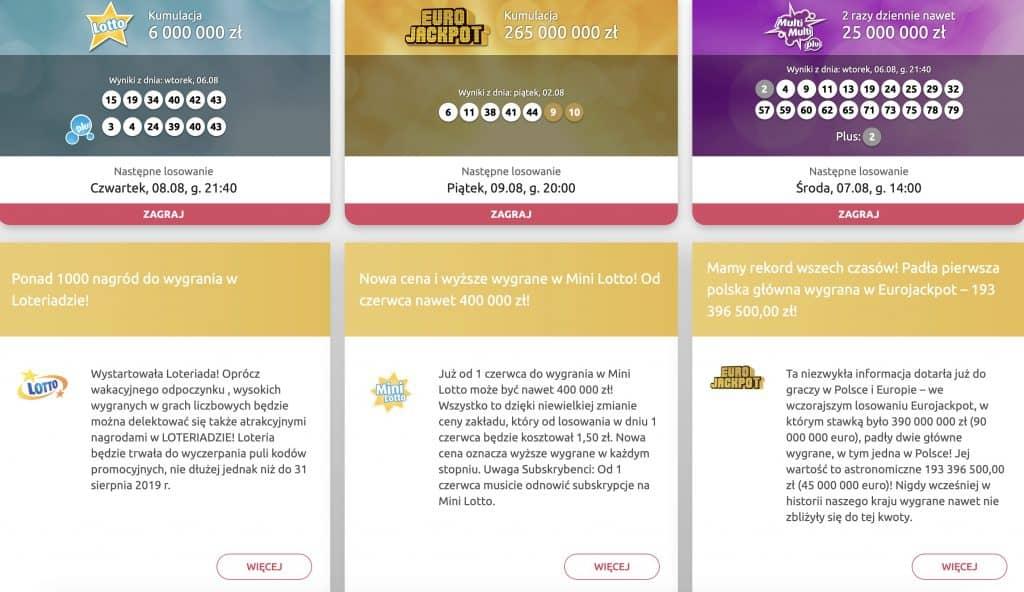 Lotto strona do stawiania kuponów