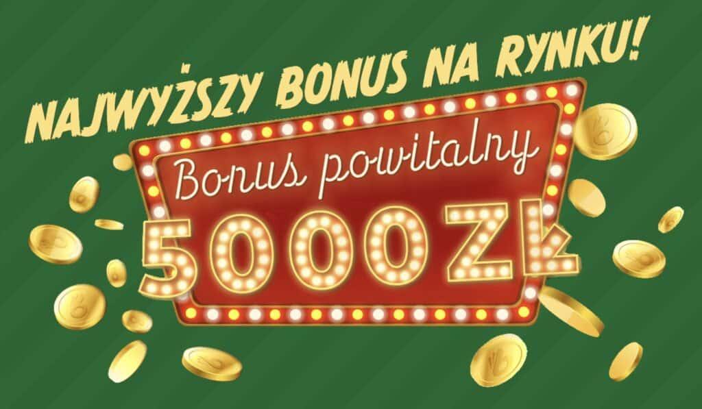 Totalbet bonus 5000 PLN