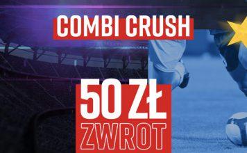 Betclic Combi Crush. Bonus 50 zł na LigęMistrzów!